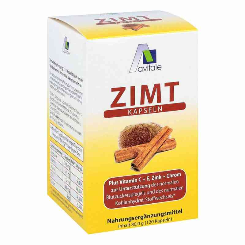 Zimt Kapseln 500 mg+Vitamin C+e  bei juvalis.de bestellen
