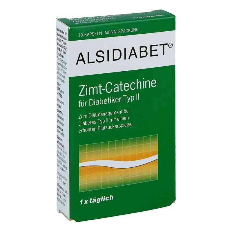 Alsidiabet Zimt Catechine für Diab.Typ Ii Kapseln  bei juvalis.de bestellen