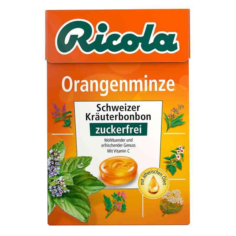 Ricola ohne Zucker Box Orangenminze Bonbons  bei juvalis.de bestellen