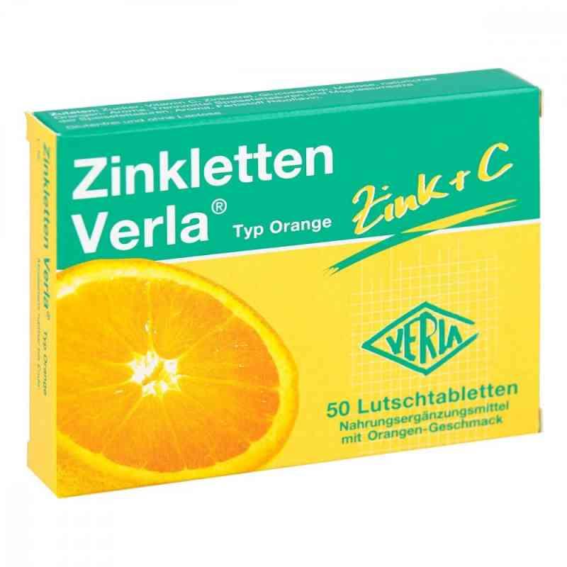 Zinkletten Verla Orange Lutschtabletten  bei juvalis.de bestellen