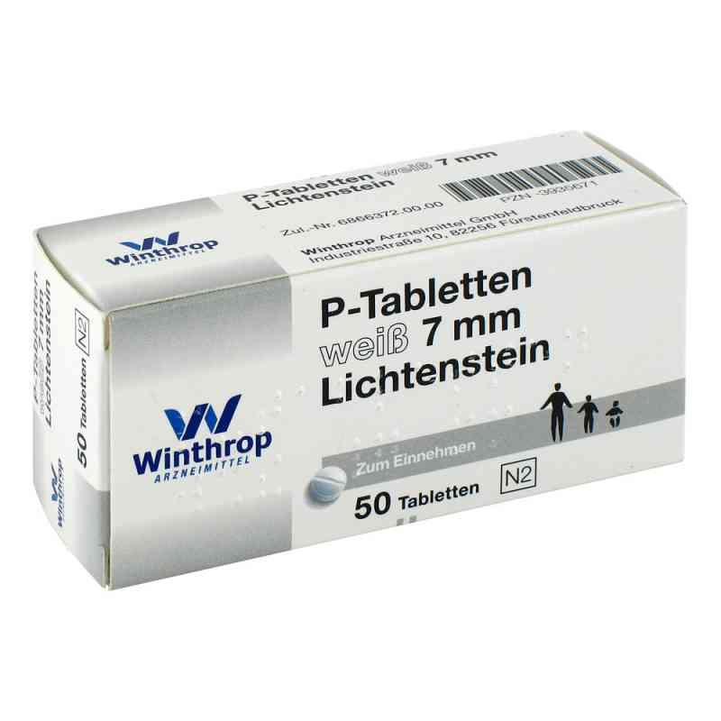 P Tabletten weiss 7 mm Teilk.  bei juvalis.de bestellen