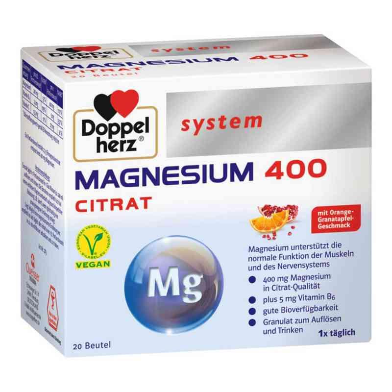 Doppelherz system Magnesium 400 Citrat  bei juvalis.de bestellen