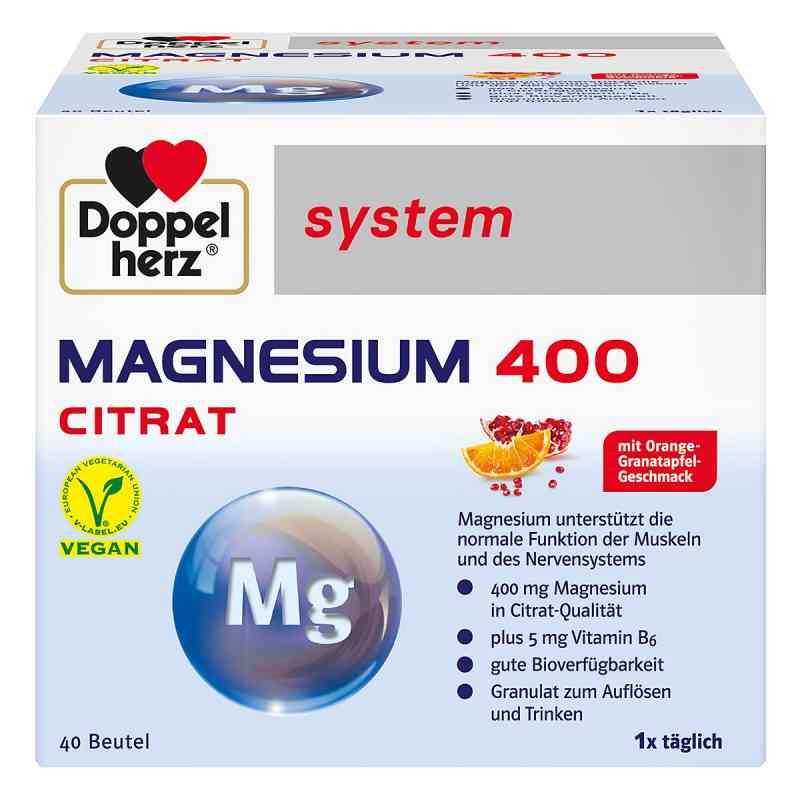 Doppelherz Magnesium 400 Citrat system Granulat  bei juvalis.de bestellen