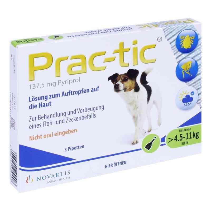 Prac tic für kleine Hunde 4,5-11 kg Einzeldosispipetten   bei juvalis.de bestellen