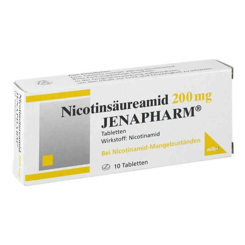 Nicotinsäureamid 200 mg Jenapharm Tabletten  bei juvalis.de bestellen