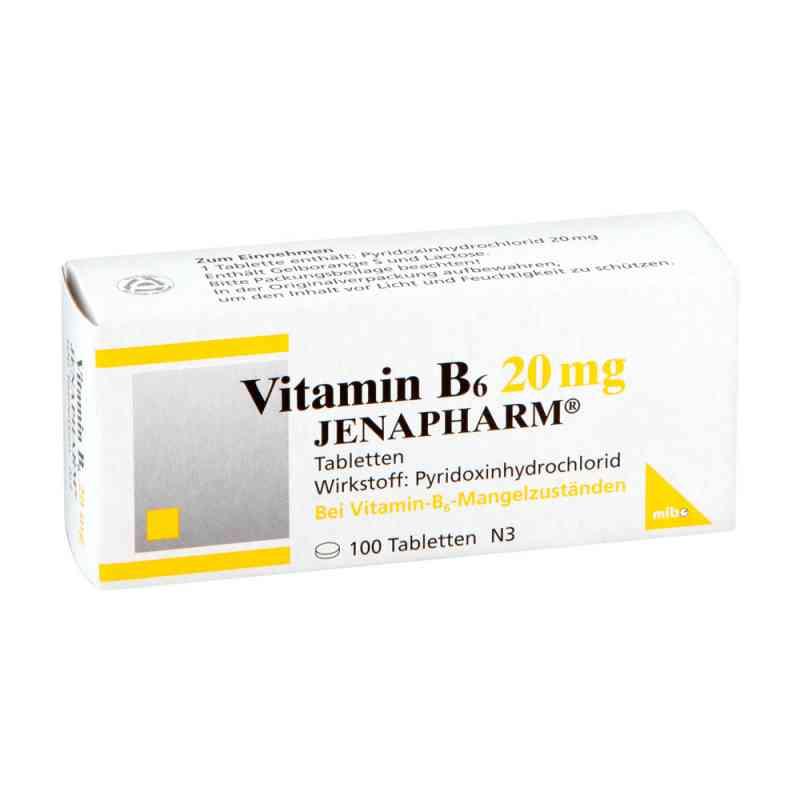 Vitamin B6 20 mg Jenapharm Tabletten  bei juvalis.de bestellen