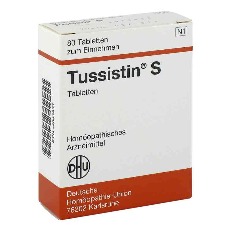 Tussistin S Tabletten  bei juvalis.de bestellen
