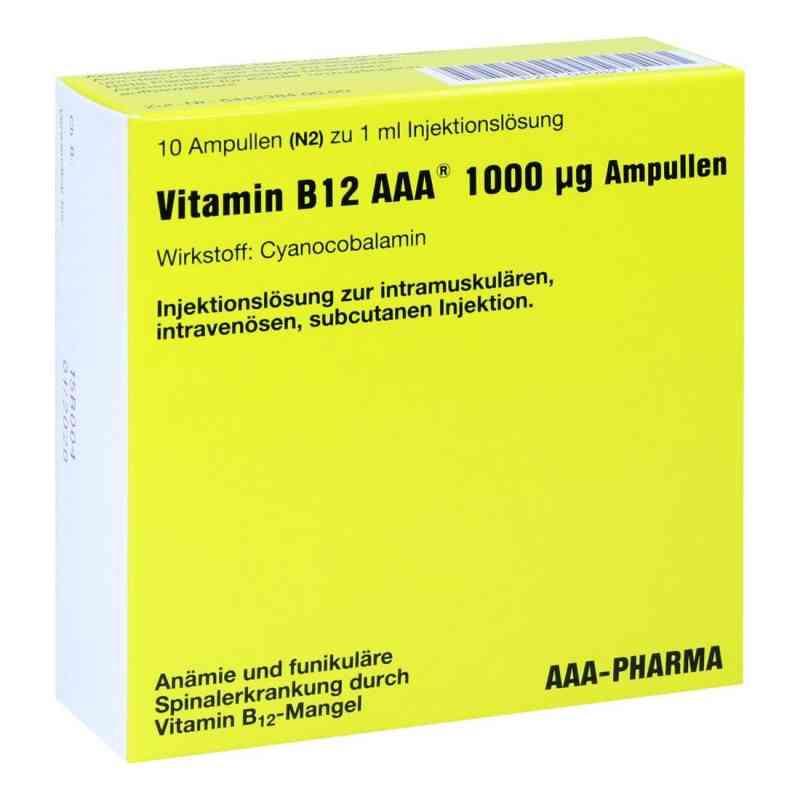 Vitamin B12 Aaa 1000 [my]g Ampullen  bei juvalis.de bestellen