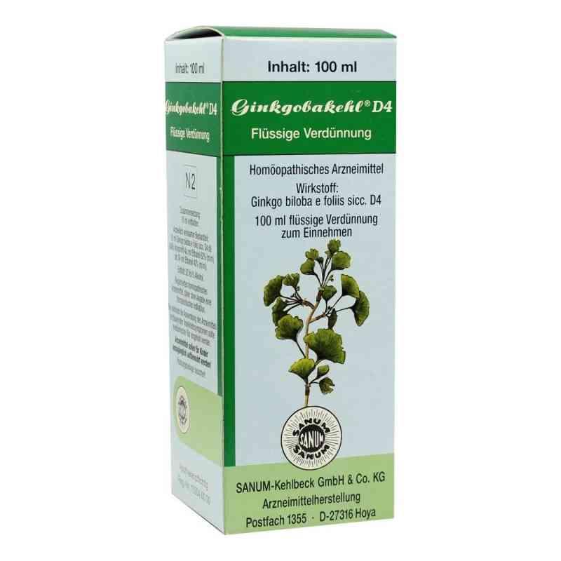 Ginkgobakehl D4 Tropfen  bei juvalis.de bestellen