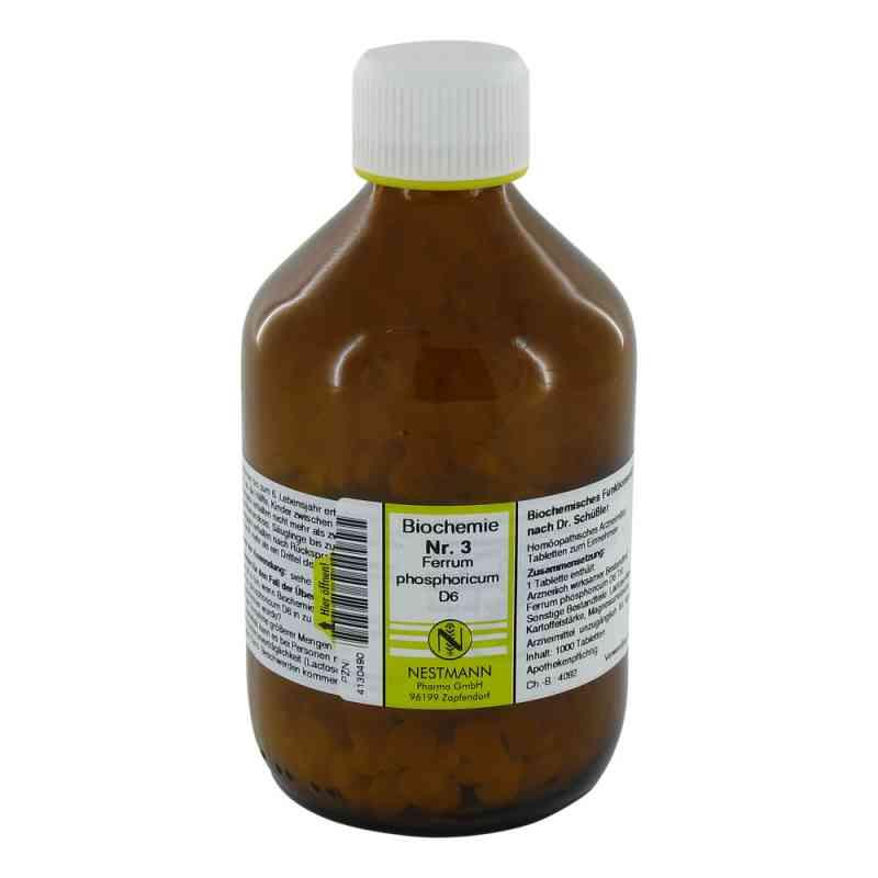 Biochemie 3 Ferrum phosphoricum D6 Tabletten  bei juvalis.de bestellen