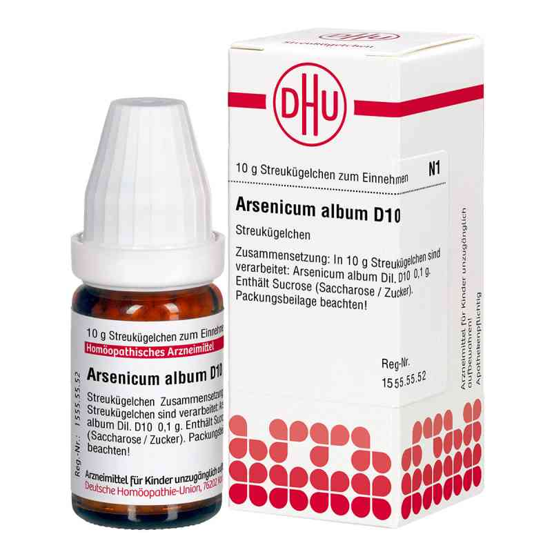 Arsenicum Album D10 Globuli  bei juvalis.de bestellen