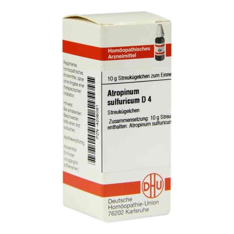 Atropinum Sulfuricum D 4 Globuli  bei juvalis.de bestellen