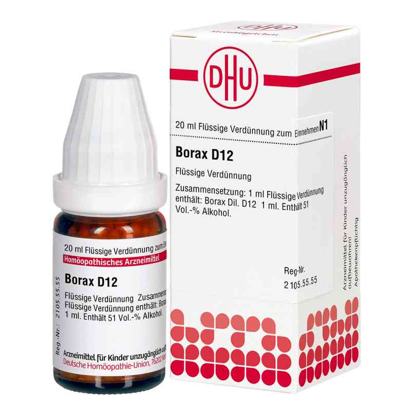 Borax D12 Dilution  bei juvalis.de bestellen