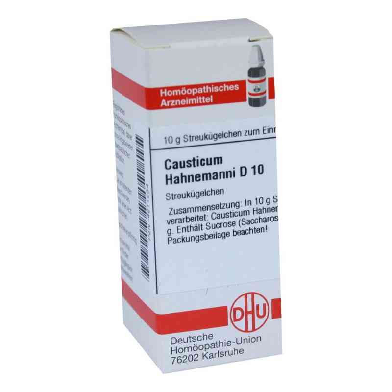 Causticum Hahnemanni D 10 Globuli  bei juvalis.de bestellen