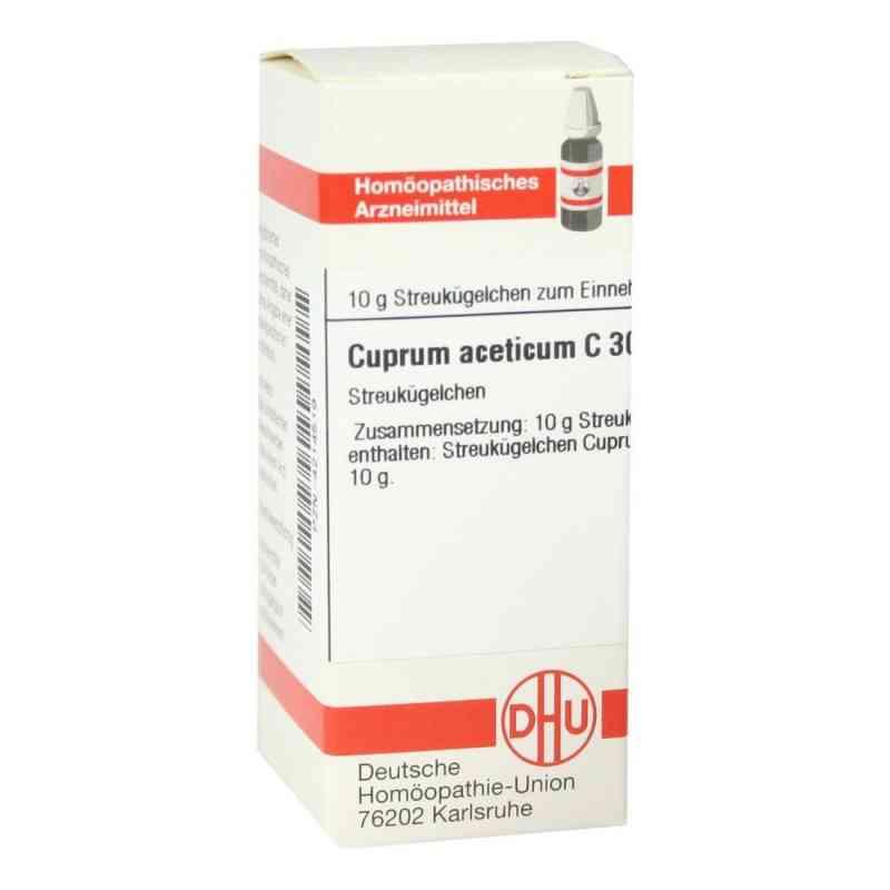 Cuprum Aceticum C30 Globuli  bei juvalis.de bestellen