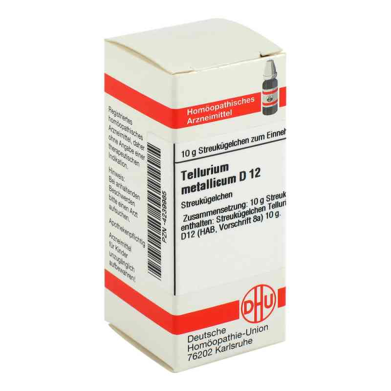 Tellurium Metallicum D 12 Globuli  bei juvalis.de bestellen