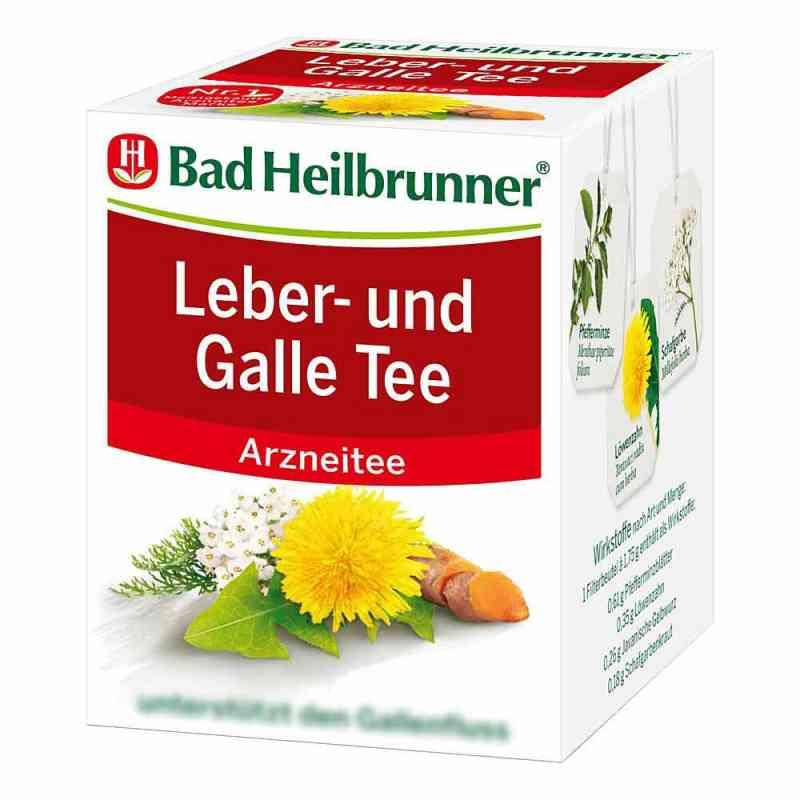 Bad Heilbrunner Tee Leber und Galle Filterbeutel  bei juvalis.de bestellen