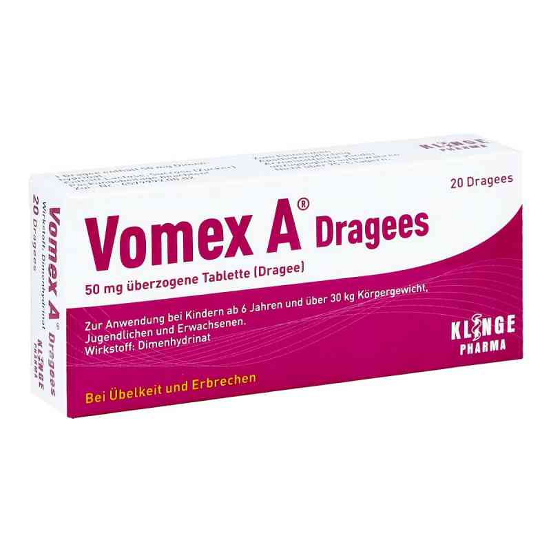 Vomex A Dragees  bei juvalis.de bestellen