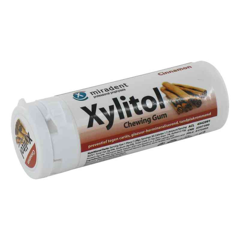 Miradent Zahnpflegekaugummi Xylitol Zimt  bei juvalis.de bestellen