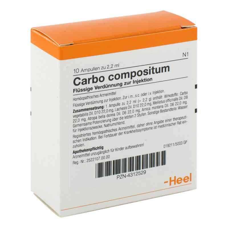 Carbo Compositum Ampullen  bei juvalis.de bestellen
