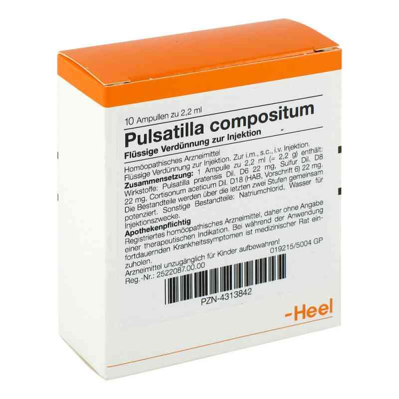 Pulsatilla Compositum Ampullen  bei juvalis.de bestellen