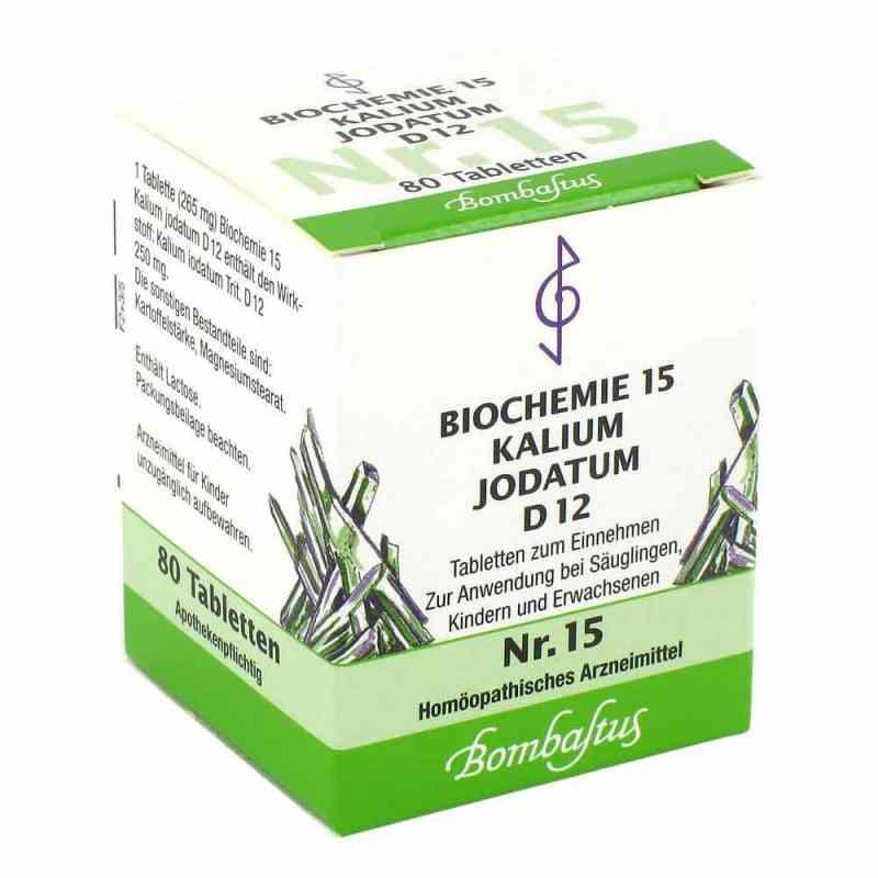 Biochemie 15 Kalium jodatum D12 Tabletten  bei juvalis.de bestellen