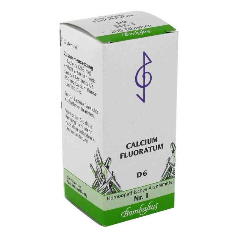 Biochemie 1 Calcium fluoratum D6 Tabletten  bei juvalis.de bestellen