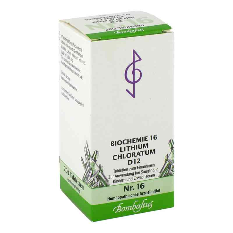 Biochemie 16 Lithium chloratum D12 Tabletten  bei juvalis.de bestellen