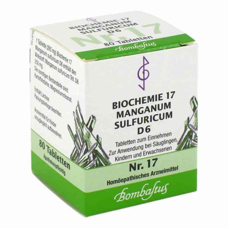 Biochemie 17 Manganum sulfuricum D6 Tabletten  bei juvalis.de bestellen