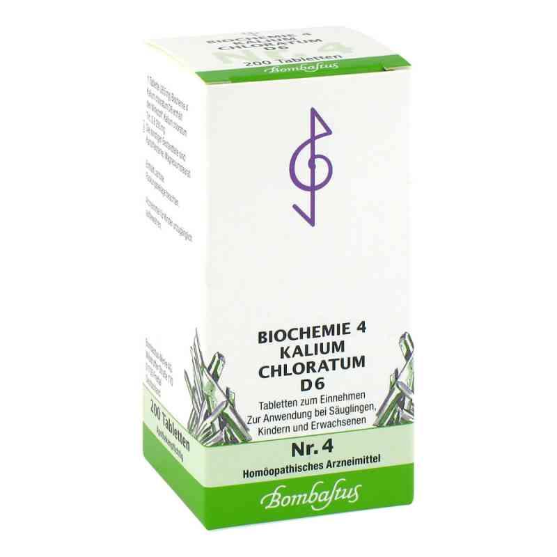 Biochemie 4 Kalium chloratum D6 Tabletten  bei juvalis.de bestellen