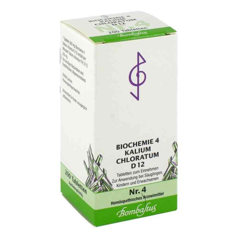 Biochemie 4 Kalium chloratum D12 Tabletten  bei juvalis.de bestellen