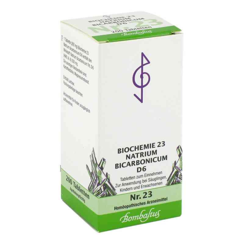 Biochemie 23 Natrium bicarbonicum D6 Tabletten  bei juvalis.de bestellen
