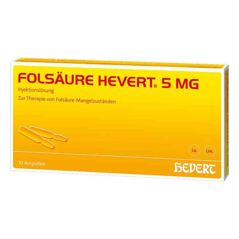 Folsäure Hevert 5 mg Ampullen  bei juvalis.de bestellen