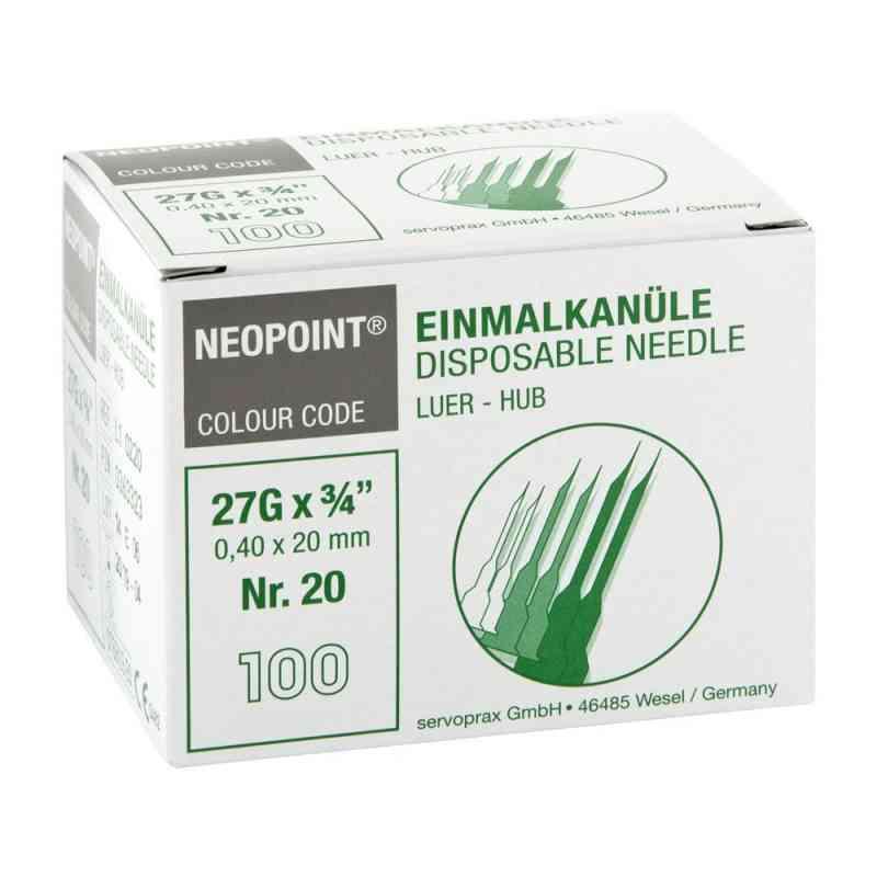 Kanülen Neopoint 20 0,40x20  bei juvalis.de bestellen