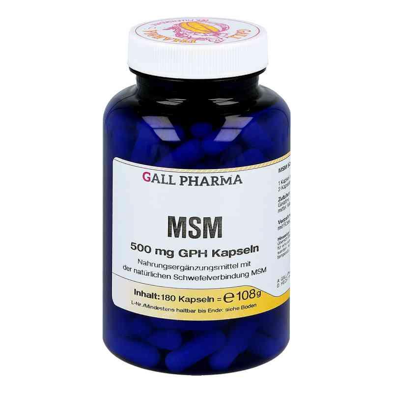 Msm 500 mg Gph Kapseln  bei juvalis.de bestellen