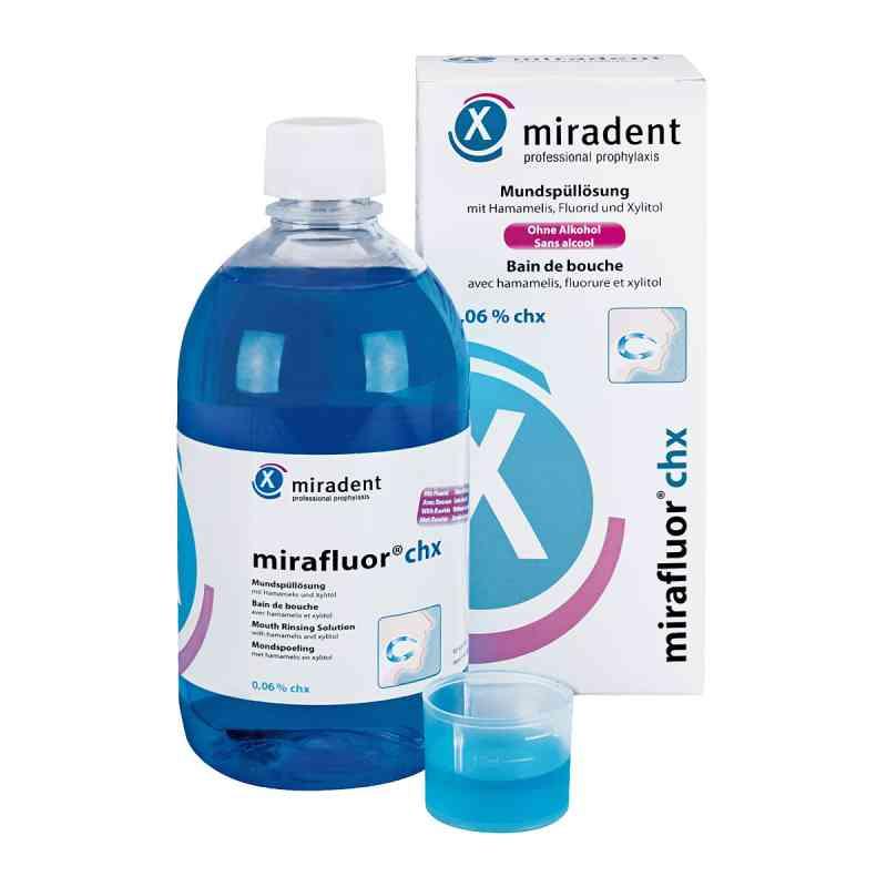Miradent Mundspüllösung mirafluor chx 0,06%  bei juvalis.de bestellen