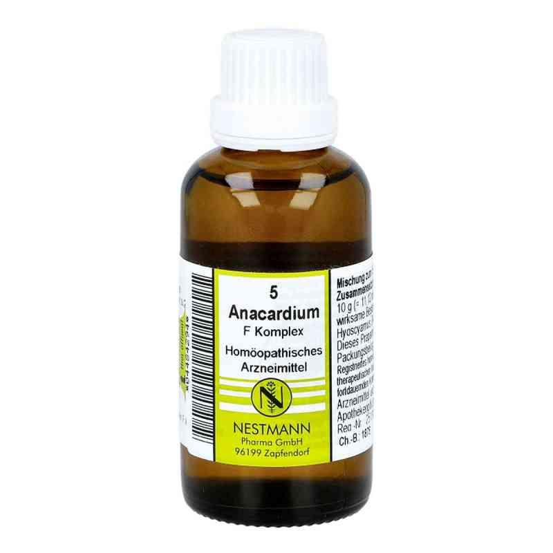 Anacardium F Komplex Nummer 5 Dilution  bei juvalis.de bestellen
