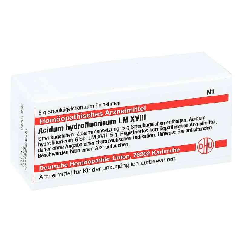 Lm Acidum Hydrofluor. Xviii Globuli  bei juvalis.de bestellen