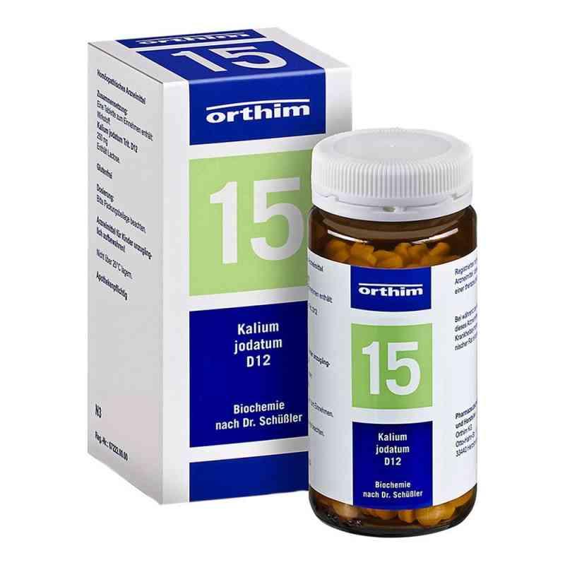 Biochemie Orthim 15 Kalium jodatum D12 Tabletten  bei juvalis.de bestellen