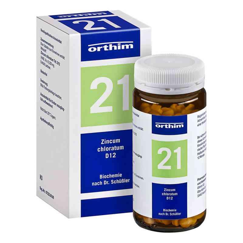 Biochemie Orthim 21 Zincum chloratum D12 Tabletten  bei juvalis.de bestellen
