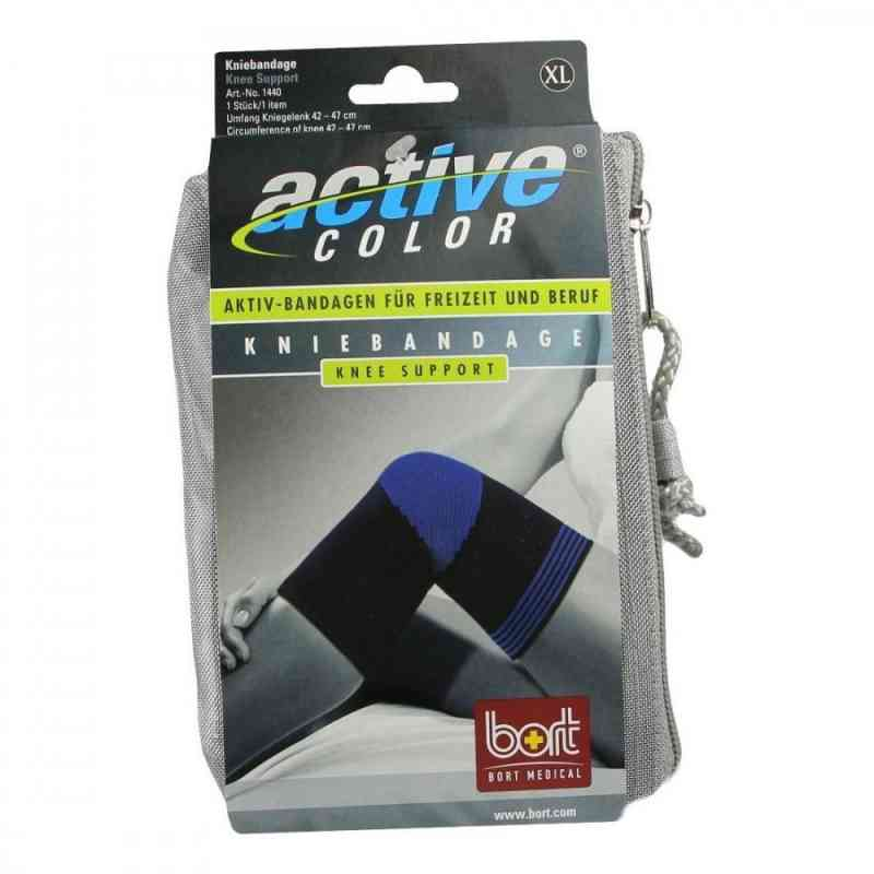 Bort Activecolor Kniebandage x-large schwarz  bei juvalis.de bestellen