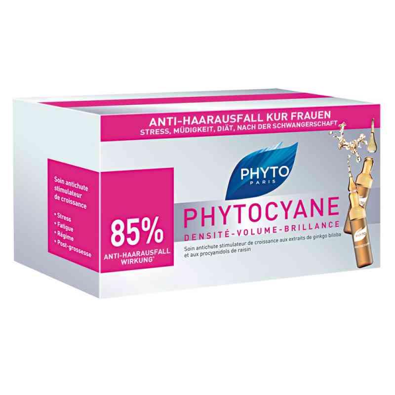 Phyto Phytocyane Kur Anti-haarausfall Frauen Ampullen  bei juvalis.de bestellen