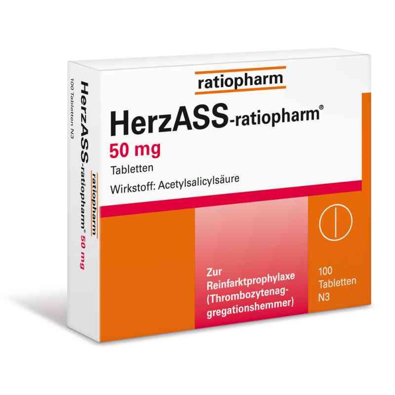 HerzASS-ratiopharm 50mg  bei juvalis.de bestellen