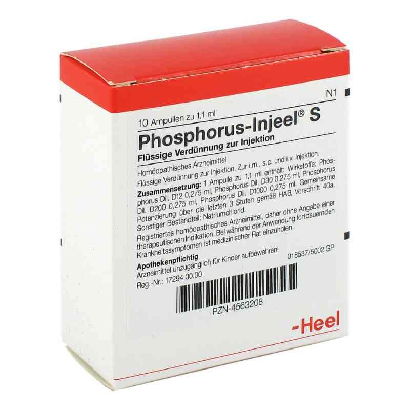 Phosphorus Injeel S Ampullen  bei juvalis.de bestellen
