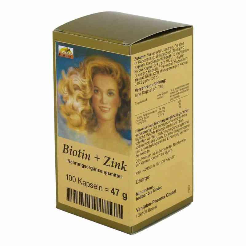 Biotin Plus Zink Haarkapseln  bei juvalis.de bestellen