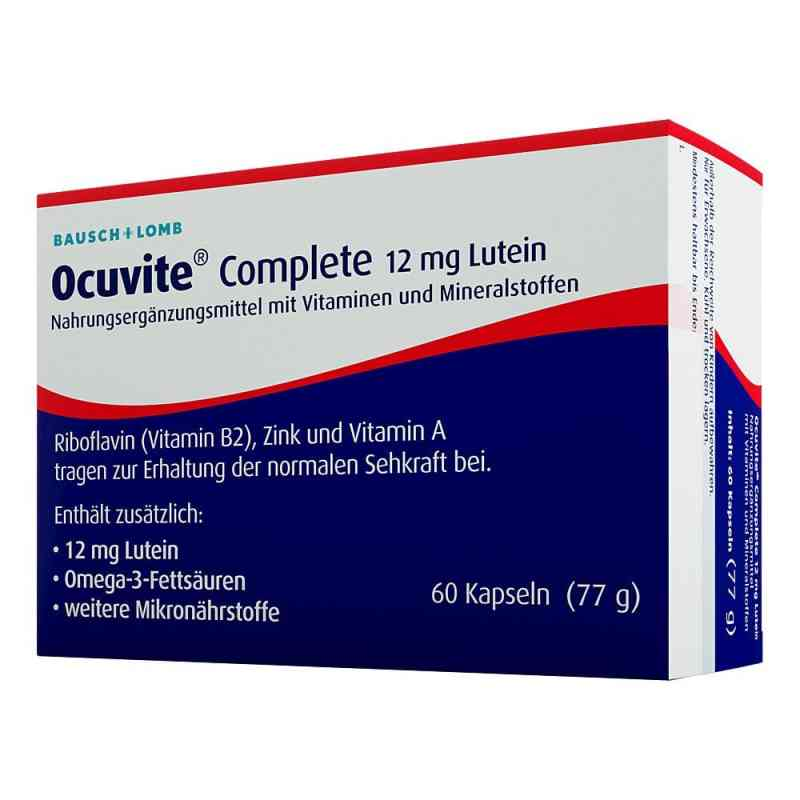Ocuvite Complete 12 mg Lutein Kapseln  bei juvalis.de bestellen