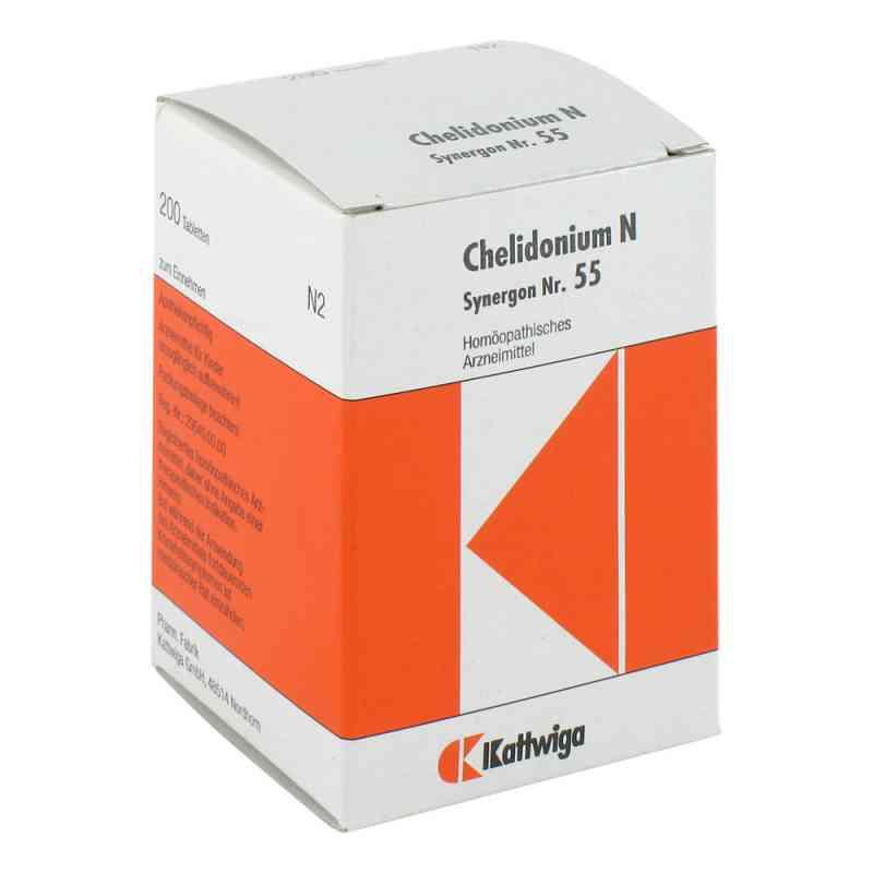 Synergon 55 Chelidonium N Tabletten  bei juvalis.de bestellen