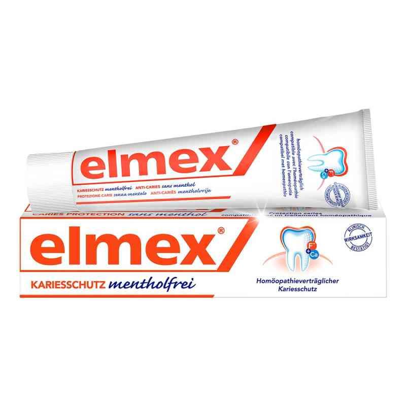 Elmex mentholfrei Zahnpasta mit Faltschachtel  bei juvalis.de bestellen