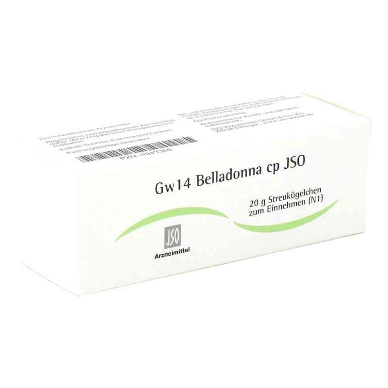 Jso Jkh Gewebemittel Gw 14 Belladonna cp Globuli  bei juvalis.de bestellen