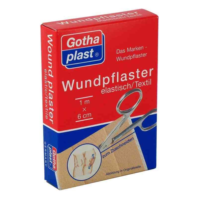 Gothaplast Wundpfl.elast 6 cmx1 m geschnitten  bei juvalis.de bestellen